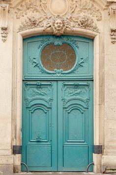 tiffany blue door...Paris