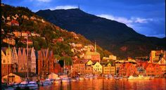 Bergen, Norway  haven't been, but want to visit