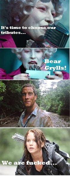 Bear Grylls wins