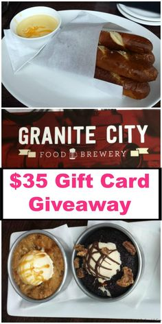 Enter to win $35 to Granite City Food and Brewery in this Gift Card Giveaway.