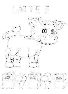 La maestra Linda: Alimentazione Den, Latte, Clip Art, School, Kids, Needlepoint, Young Children, Boys, Children