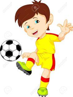 "Photo from album ""Футбол, футболисты"" on Yandex. Soccer Boys, Kids Sports, Yoga Inspiration, Beard Art, Birthday Charts, Tree Stencil, Bollywood Music Videos, Cartoon People, Children Images"