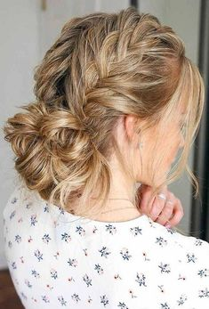 Fun And Easy Updos For Long Hair , Charming Double Braided Updo For Thin Hair ❤️ Long hair updos are not only classy for a special occasion but a simple fix. Easy Updos For Long Hair, Long Thin Hair, Braids For Long Hair, Updo For Work, Casual Hairstyles For Long Hair, Long Hair Dos, Thick Hair, Trendy Hairstyles, Long Face Hairstyles