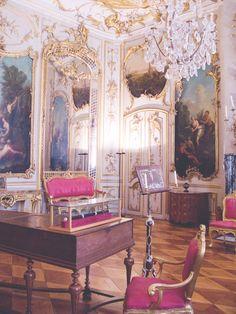 "joli-boudoir: "" Sanssouci Palace - ""Frederician Rococo"" """