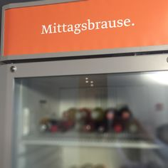 Mittagsbrause ‪#‎FridgeFriday‬ No. 97