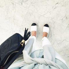 Whites, Blues and Blacks | Preloved Fashion ♥ Catchys