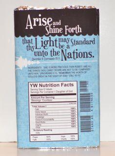 Arise & Shine Forth candy bar