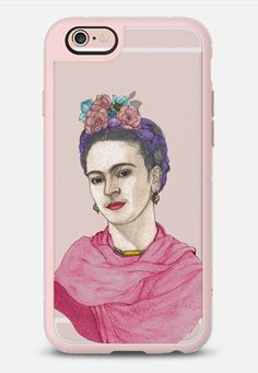 Frida Kahlo; phone case design by Barruf. Get $10 OFF with the code: S29WXC