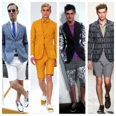 Adentro Style: The short suit!