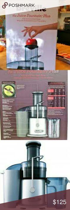 Belleville JE98XL  juicer Fountain plus Brand New Breville Other