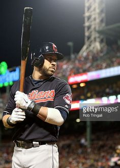 Jason Kipnis, CLE//Oct 10, 2016 Game 3 ALDS at BOS