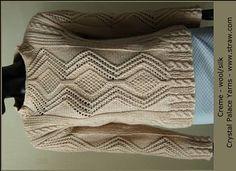 Aran Style Pullover by Crystal Palace Yarns