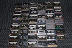 Kassetten Konvolut! 53 Chromdioxid-Tapes - AGFA BASF TDK - ansehen!!!