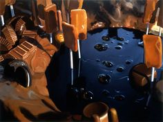 Will Cotton, Molasses Swamp, 1999, oil on canvas, 36 x 48 inches. Courtesy of the artist and Mary Boone Gallery
