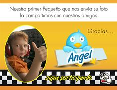 Les compartimos la foto de Angel, sigan partcipando esperamos sus fotos.