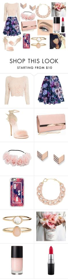 """Everybody needs somebody to love And I choose you"" by ivy-mary-clark ❤ liked on Polyvore featuring Coast, Giuseppe Zanotti, New Look, FOSSIL, Casetify, DIANA BROUSSARD, Accessorize and MAC Cosmetics"