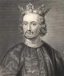 King Henry III  Born: October 1, 1207 at Winchester  Parents: King John and Isabella   Relation to Elizabeth II: 20th great-grandfather  House of: Plantagenet  Ascended to the throne: October 18, 1216 aged 9 years  Crowned: October 28, 1216 at Westminster Abbey  Married: Eleanor of Provence,   Children: Six sons including Edward I, and three daughters  Died: November 16, 1272 at Westminster, aged 65 years, 1 month, and 16 days  Buried at: Westminster Abbey  Reigned for: 56 years, and 29 days