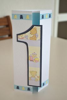 Boys 1st birthday card