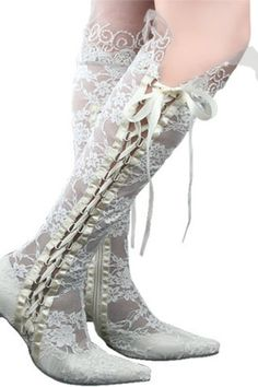 Elegant Cloth Upper Thick Heel Closed Toe with Lace Wedding Shoes MB-081