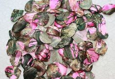 True Timber Camouflage  Pink Camouflage Petals  by IDoDoodads, $10.95