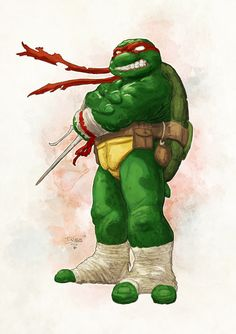 TMNT - Raphael by Tristan Jones and Mike Spicer