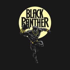 Awesome 'Black+Panther' design on TeePublic!