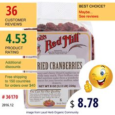Bobs Red Mill #DriedFruit