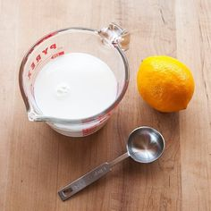 How To Make Buttermilk from Plain Milk with Lemon Juice or Vinegar