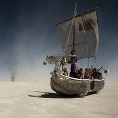 A ship in the desert at Burning Man. Have you ever been? Click through for tons of awesome pics.