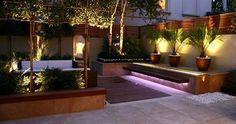 luz indirecta en jardin - Buscar con Google
