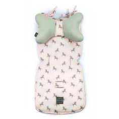 Floo babakocsi betét pillangó párnával - Unikornis, szürke Backrest Pillow, Pillows, Cushions, Pillow Forms, Cushion, Scatter Cushions