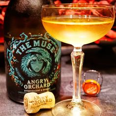 Trying @angryorchard Effervescent & Bubbly. Yeah it's a new favorite cider. #hardcider