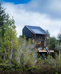 Chile Based Zerocabin Offers Kit Of Off Grid Zero Impact Cabins In 2020 Cabin Off Grid Cabin Timber Frame Construction