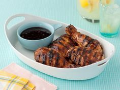 Recipe of the Day: Giada De Laurentiis' Balsamic BBQ Chicken Cross homemade barbecue sauce with balsamic vinegar to give the rich blend of ketchup, Dijon mustard, brown sugar and spices a tangy complexity. Brush it on chicken — or whatever meat you're cooking — just before taking it off the grill. Odds are, you'll be tempted to put it on everything.