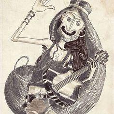 #art #artist #instaart #instaartist #artsanity #arthabit #sketch #dan_ene #alsace #strasbourg #dailysketch #dailypic #dailyart #dailydrawing #drawing #illustration #doodle #lineart #markers #weird #instadaily #hippie #characterdesign #characterdesignchallenge #guitar #concert #rocker