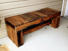 pallet mudroom bench - Cerca amb Google