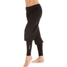 Die Winshape-Manschettenhose WH6 verfügt über eine ideale Passform für Yoga-, Pilates- und Bodystyling-Training. Die pfeilförmige Form des Bündchens und der Gummizug am...