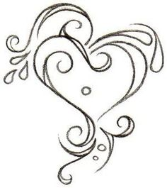 This would make a really nice embroidered accent on a shirt, right over the heart.