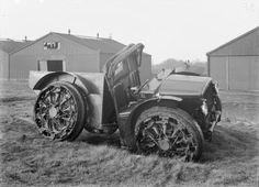 Forgotten Futures (Tumblr):  Pavesi Artillery Tractor