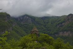 Bell Chapel is situated near Halidzor, in Syunik Province, Armenia. It was used as an alerting building during dangerous times as during wars, fights and etc. So when bells rang people understood the danger is near and they should find a save shelter.