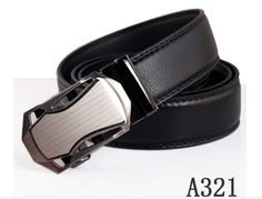 Free shipping 2017new PUdesigner belts men high quality Black leather belt  fashion business automatic buckle cintos para homens