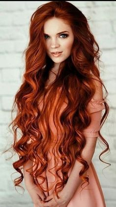 So you fancy long hair? Want to know how to grow long hair the right way? Looking for how to grow long hair the right way? These are the effective way you will know how to grow long hair the right way! Long Red Hair, Grow Long Hair, Grow Hair, Curly Red Hair, Long Curly, Red Hair For Summer, Irish Red Hair, Blonde Hair, Red Blonde