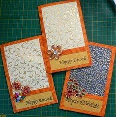 homemade card ideas for diwali