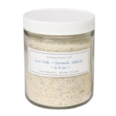 Farmaesthetics Sweet Milk and Chamomile Flower Facial Exfoliate 8 Oz. Lavender Buds, Organic Herbs, Anti Aging Tips, Skin Brightening, Skin Care Tips, Healthy Skin, The Balm, Facial, Sweet