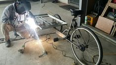 Handmade cargo bike before  production, Taiwan  手工車 cargo bike 台灣