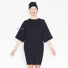 """MONKI""Sweat Dress Black Magic"