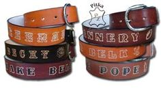 Custom Leather belts Personalized