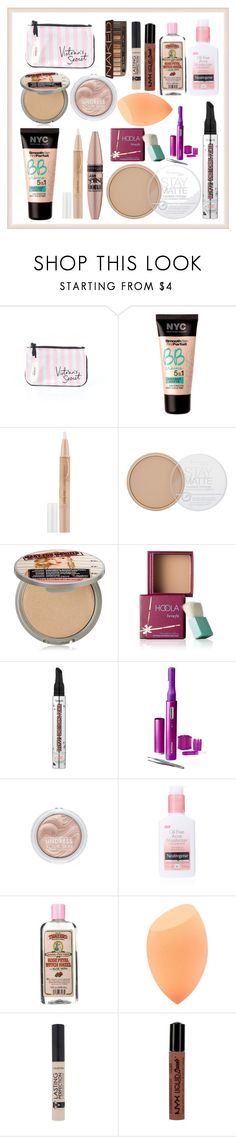 """Untitled #181"" by lucy-wild on Polyvore featuring beauty, Victoria's Secret, Maybelline, Rimmel, TheBalm, Benefit, Philips, Neutrogena, NYX and Urban Decay"