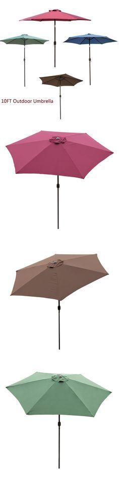 umbrellas 180998 8 5 round outdoor patio umbrella 24 steel wire
