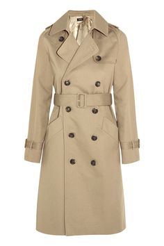 It doesn't get more classic than a trench—not to mention, it goes with everything. A.P.C. Vendee Cotton-Twill Trench Coat, $635; net-a-porter.com.   - MarieClaire.com